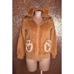 Tokyo Disney Sea Japan Duffy Bear Hoodie Jacket